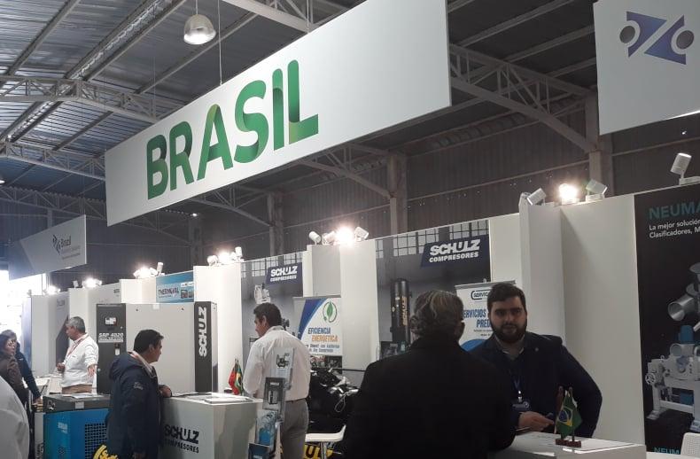 Brazilian Pavilion at EXPONOR 2019